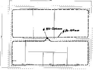 Provětrávaná podlaha - odsávací potrubí